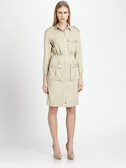 Piazza Sempione - Cotton Safari Dress