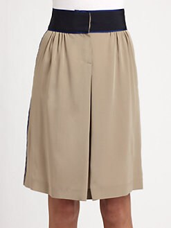 Piazza Sempione - Silk Crepe De Chine Skirt