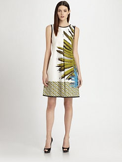 Piazza Sempione - Palm Print Dress