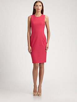 Piazza Sempione - Wool Sheath Dress