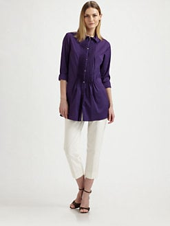 Piazza Sempione - Cotton Tunic Top