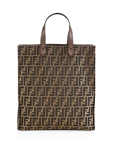 Signature Monogram Shopping Bag