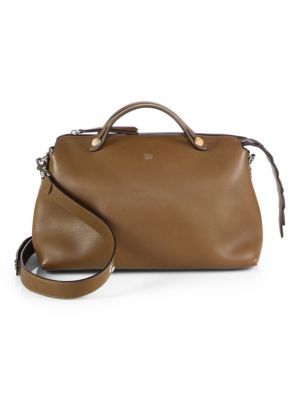 By The Way Large Leather Satchel