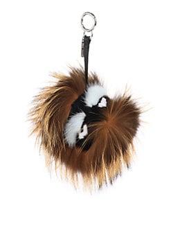 Fendi - Fur Monster Keychain