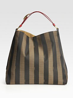 Fendi - Striped Hobo Bag