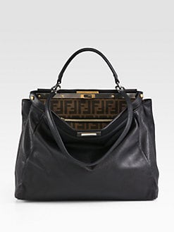 Fendi - Large Peekaboo Satchel