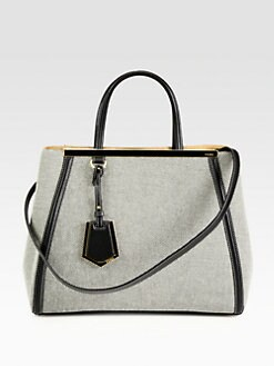 Fendi - 2Jours Medium Canvas Shopper
