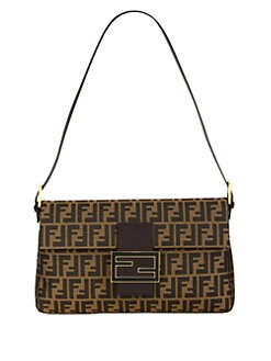 Fendi - New Big Zucca Jacquard Baguette Bag