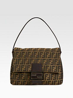 Fendi - Big Mama Jacquard Bag