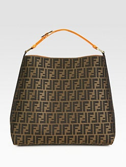 Fendi - Zucca Jacquard Hobo