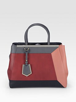 Fendi - 2Jours Small Patchwork Shopper