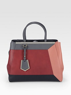 Fendi - 2Jours Medium Patchwork Shopper