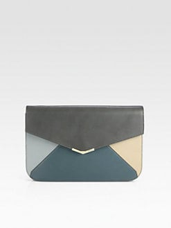 Fendi - 2Jours Colorblock Clutch