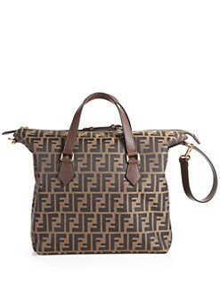 Fendi - Zucca Jacquard Top Handle Bag