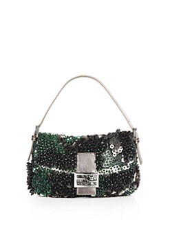 Fendi - Paillettes Shoulder Bag