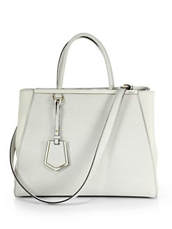 Fendi - 2Jours Medium Mixed-Media Shopper
