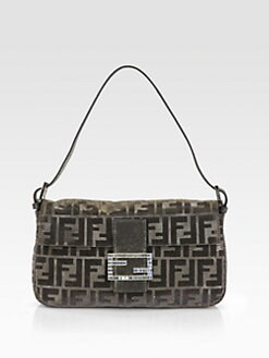 Fendi - Beaded Baguette Shoulder Bag