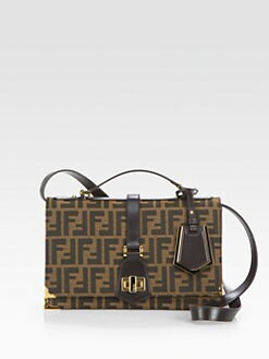 Fendi - Classic No. 1 Jacquard Messenger Bag
