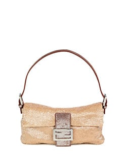 Fendi - Baguette Beaded Shoulder Bag