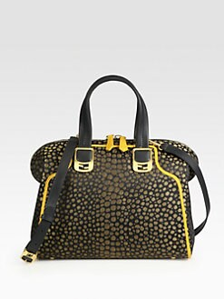 Fendi - Chameleon Jacquard Satchel