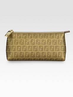 Fendi - Forever Coated Canvas Cosmetics Bag