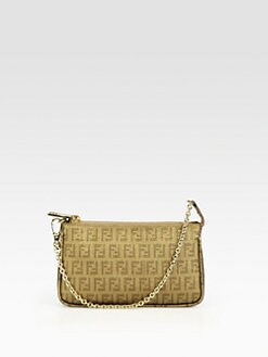 Fendi - Forever Coated Canvas Zip Pouch
