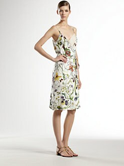 Gucci - Silk Infinity Flora Dress