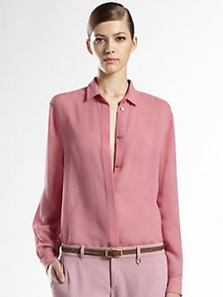 Gucci - Cotton/Silk Gauze Shirt
