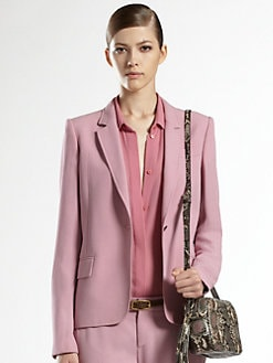 Gucci - Satin Bubblegum Jacket