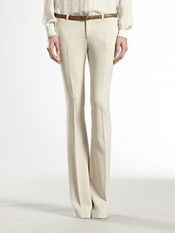 Gucci - Tricotine Skinny Flare Pants