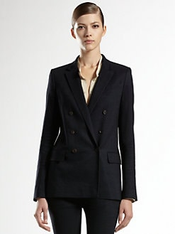 Gucci - Flora Lined Double-Breasted Jacket