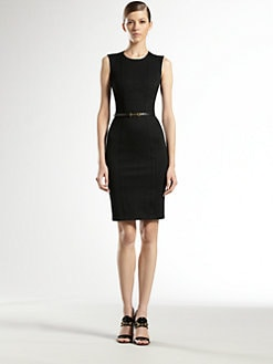 Gucci - Jersey Belted Shift Dress