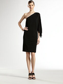Gucci - One-Shoulder Jersey Dress