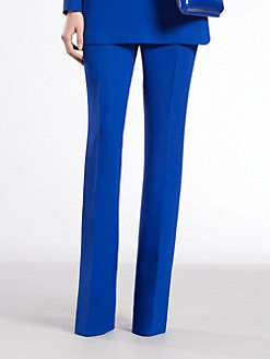 Gucci - Sapphire Silk Cady Pants