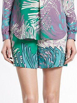 Gucci - Dahlia Print Shorts