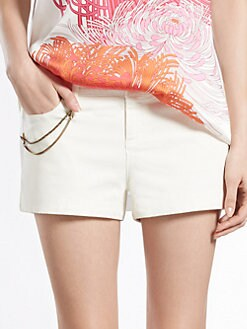 Gucci - Five-Pocket Stretch Cotton Shorts