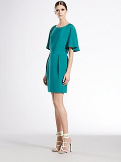 Gucci - Spring Water Flounce Sleeve Dress