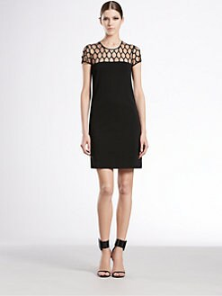 Gucci - Tulle Damier Dress