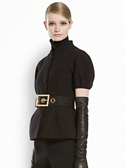 Gucci - Puff-Sleeve Jacket