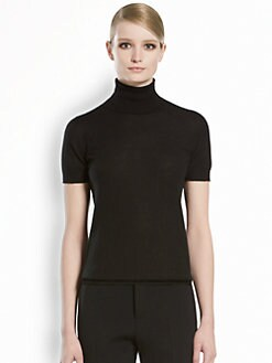 Gucci - Cashmere Short-Sleeve Turtleneck