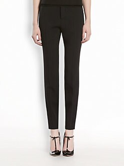 Gucci - Stretch Cady Flat Front Pants