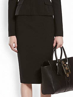Gucci - Wool Pencil Skirt