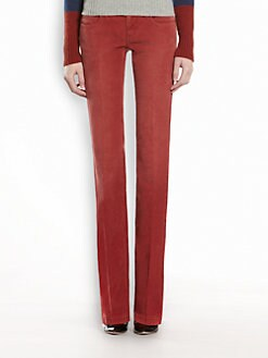 Gucci - Skinny Flare Corduroy Pants