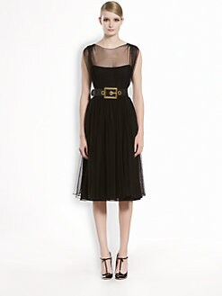 Gucci - Point D'Espirit Tulle Dress