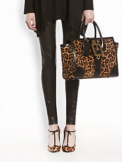 Gucci - Stretch Nappa Leather Leggings