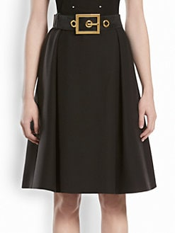 Gucci - Wool Full Skirt