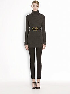 Gucci - Alpaca & Merino Wool Turtleneck