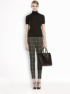 Gucci - Finestrato Check Holiday Pants