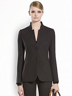 Gucci - Stand Collar Jersey Jacket