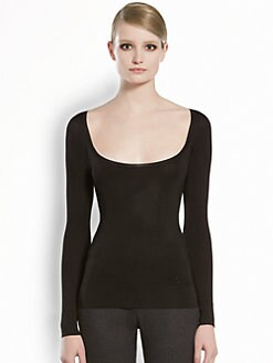Gucci - Viscose Scoopneck Top